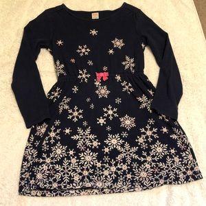 Gymboree snowflake dress - 10